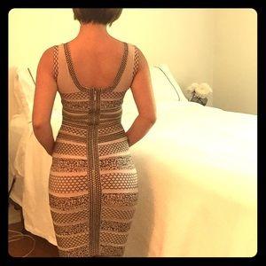 Stretchy sexy dress.